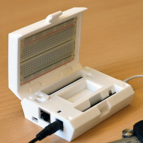 3D printed portable lab with BeagleBone Black from 3D Hubs3D printed portable lab with BeagleBone Black from 3D Hubs