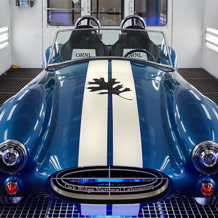3D printed shelby cobra from ci