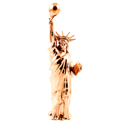3D printed statue of liberty in copper Lady_Ballloon_by_Bert_De_Niel
