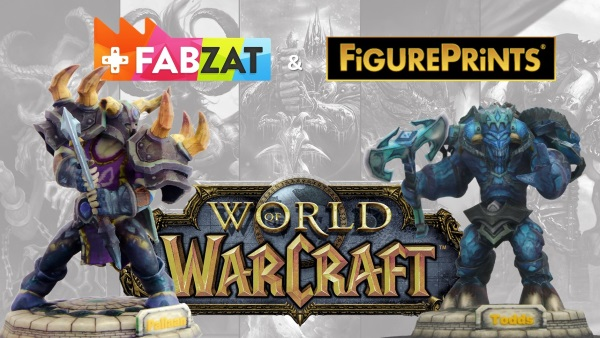 3D Print Your Own Personalized World of Warcraft Characters