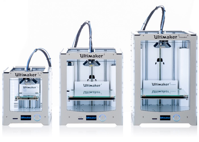 Ultimaker 3D printer line