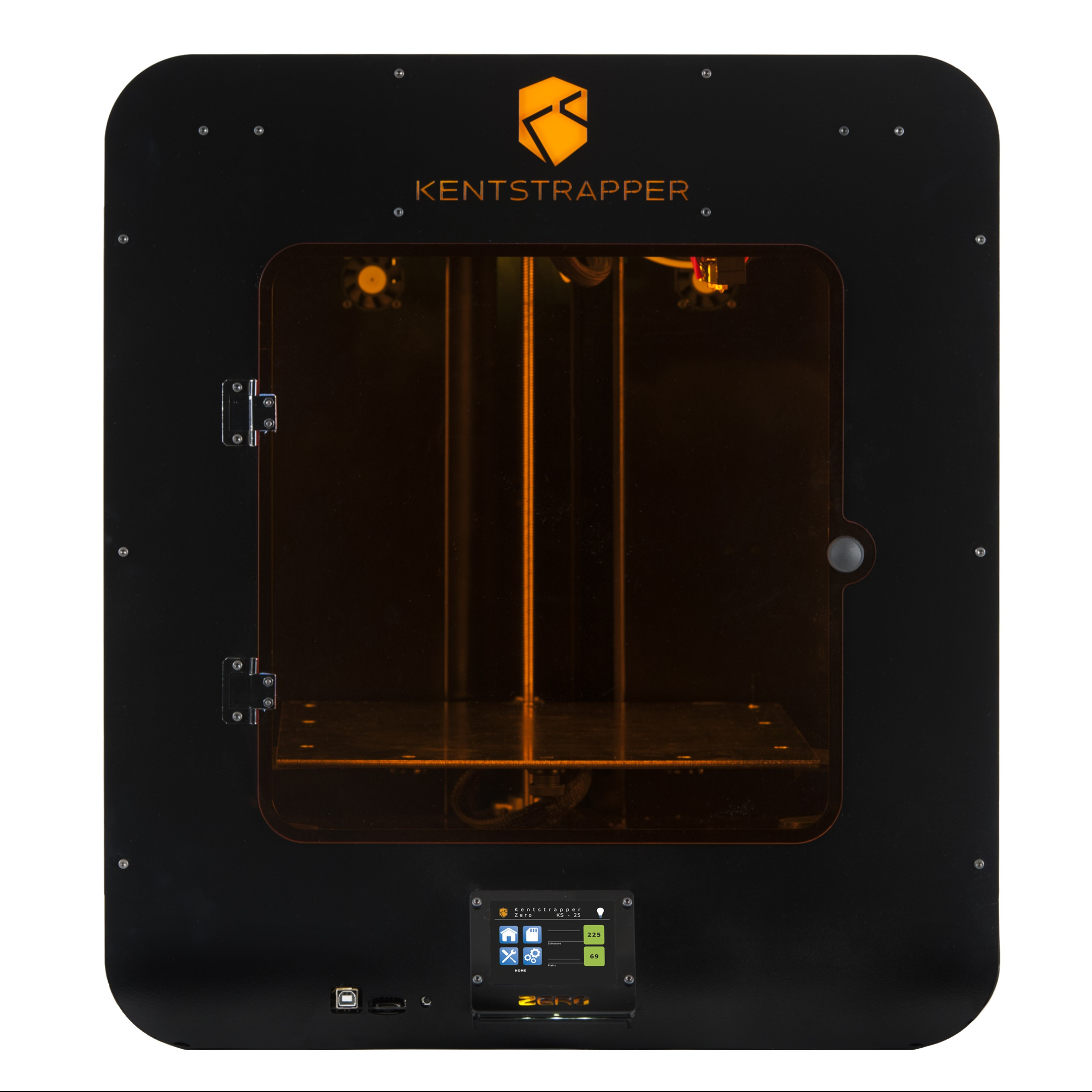 Kentstrapper's Zero 3D Printer: Plug-n-Play 3D Printing Promising Zero Stress