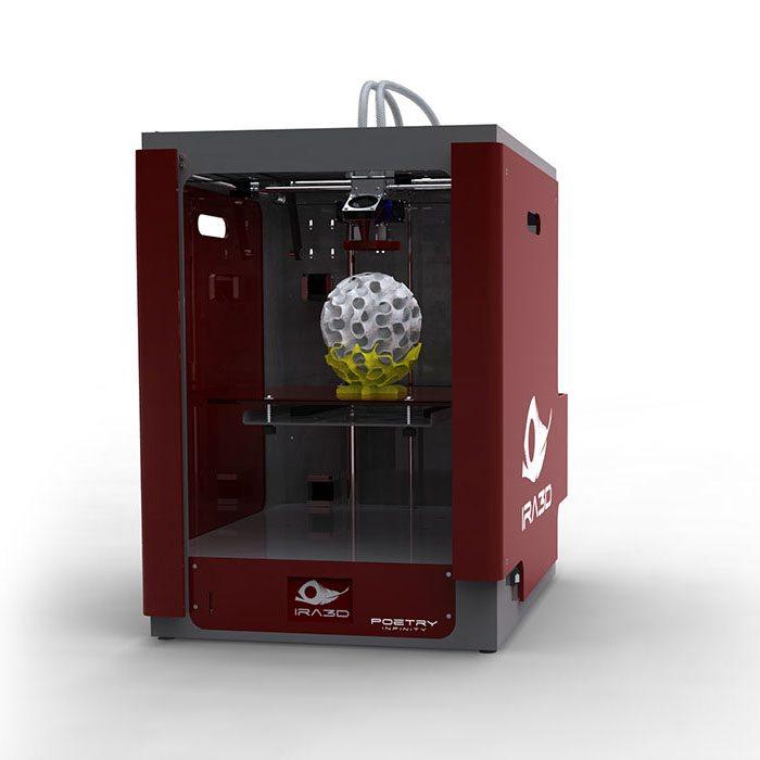 Meet Ira3D: The Ferrari of Desktop 3D Printing Technology