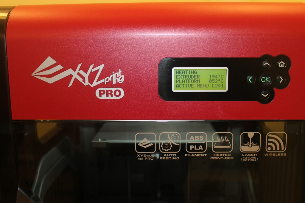 xyzprinting da vinci pro 3D printer