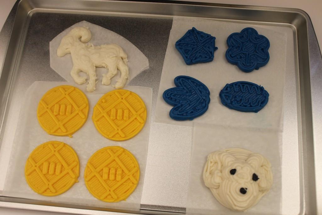 xyzprinting food 3D printer 3D printed cookies