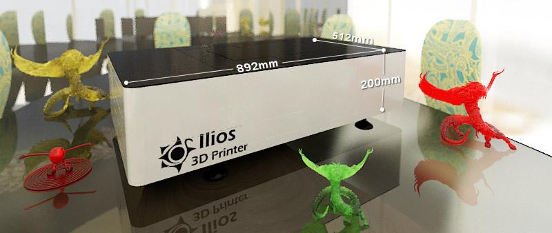 Ilios Ray SLA 3d printer