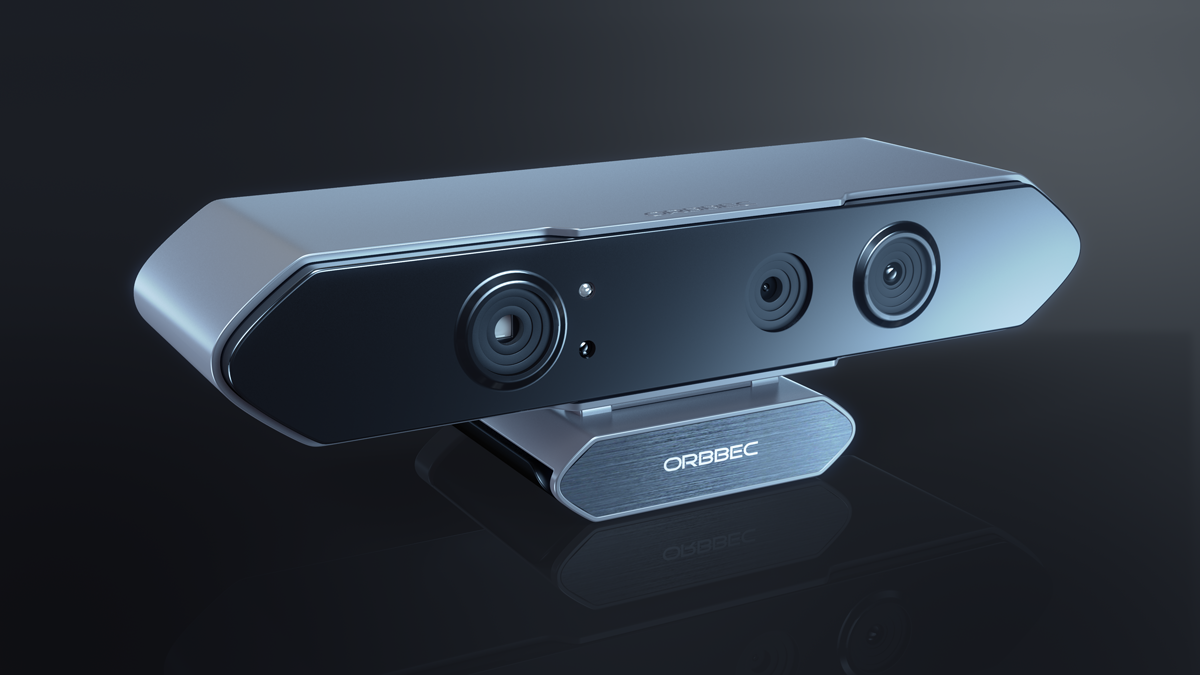 Orbbec Persee (front) 3D camera
