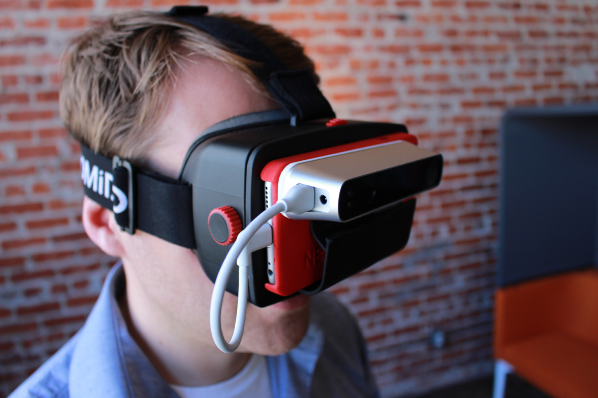 Structure VR headset for 3D printing