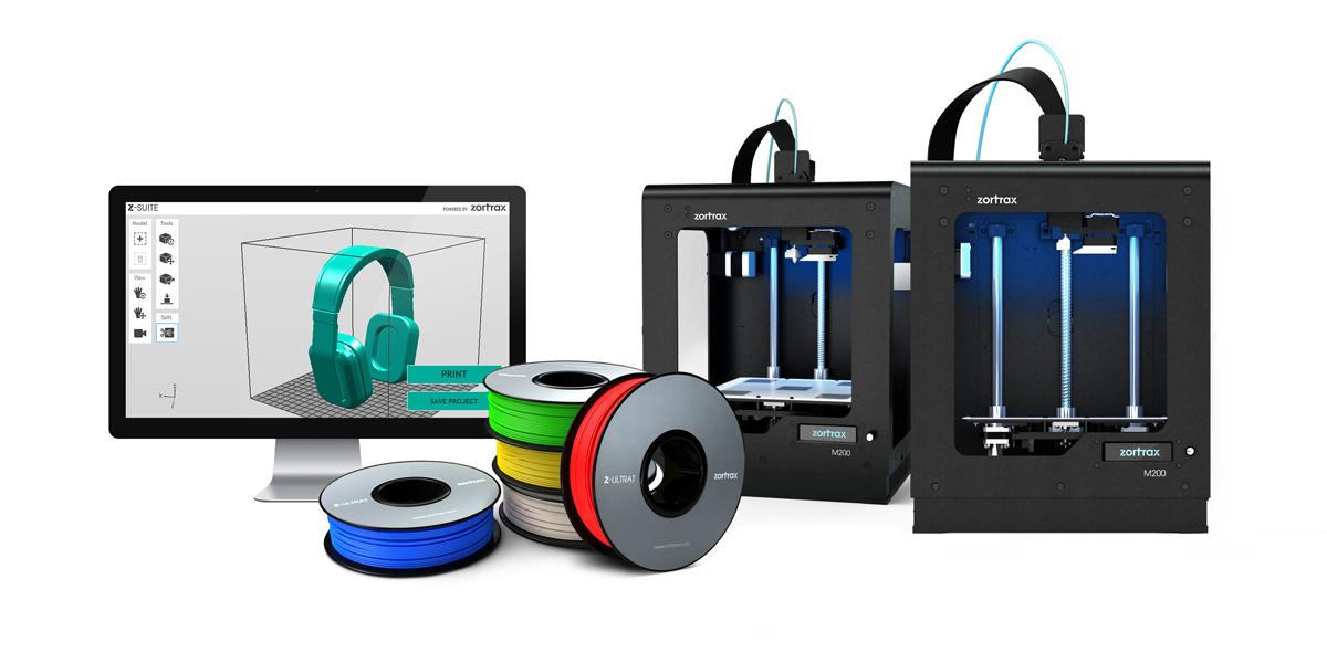 Zortrax donates m200 3D printer to 180 public institutions