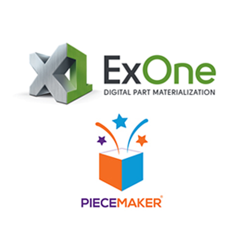 exone and piecemaker partner for metal 3D printing