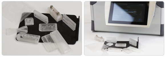 fluid factory microfluidics 3D printer ideal-for-chips-examples
