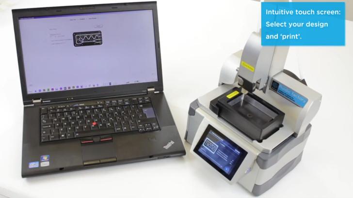 fluid factory microfluidics 3D printer