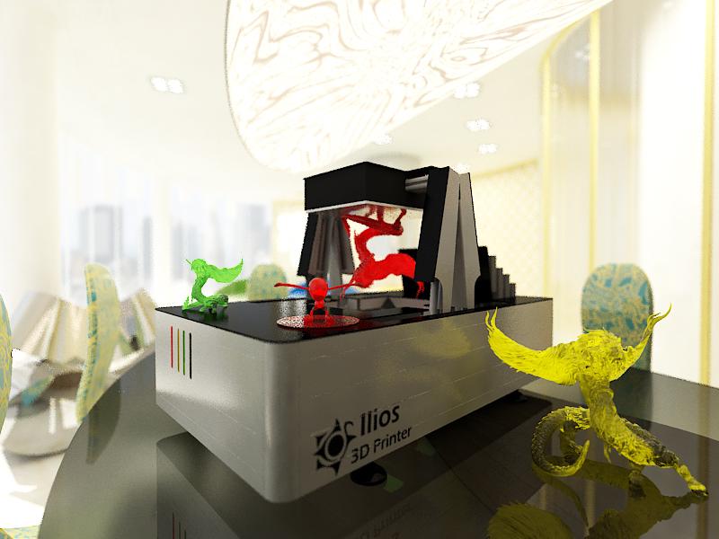 ilios-ray 3 dprinter
