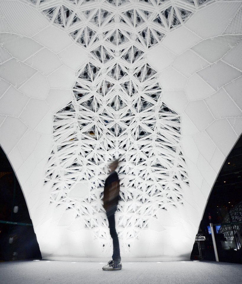 largest 3D printed structure D printed Vulcan structure in China