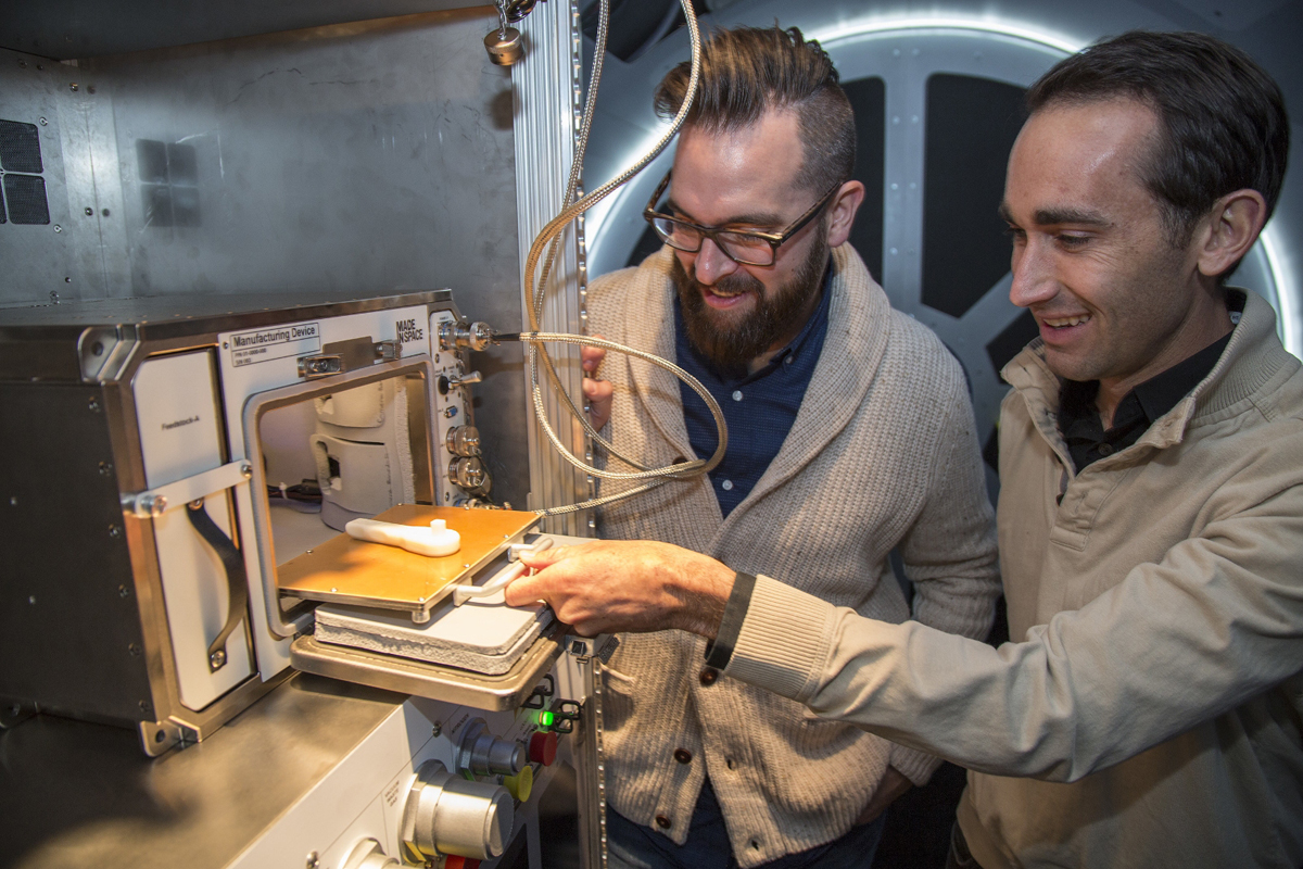 lowe's 3D printer in space made in space additive manufacturing facility