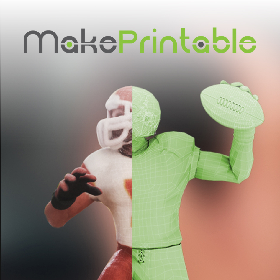 makeprintable 3D printing repair software