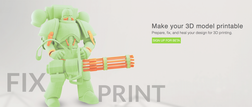 makeprintable 3D printing repair website