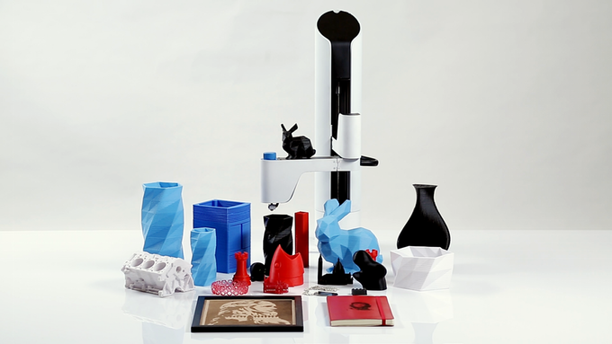 makerarm 3D printing objects
