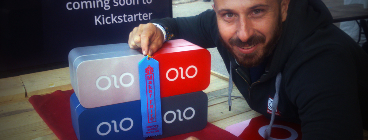 olo 3D printer smartphone wins editor's choice award at world maker faire 2015