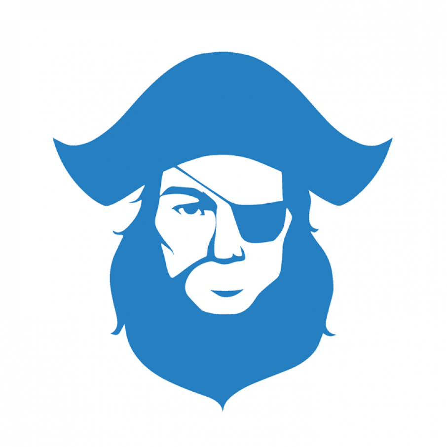 pirate3D logo 3D printing