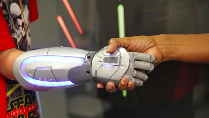 star wars 3D printed bionic arm
