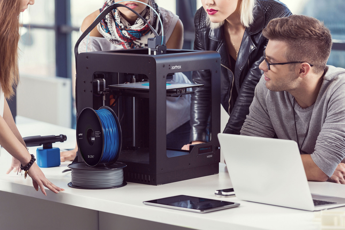 zortrax m200 3D printer for students