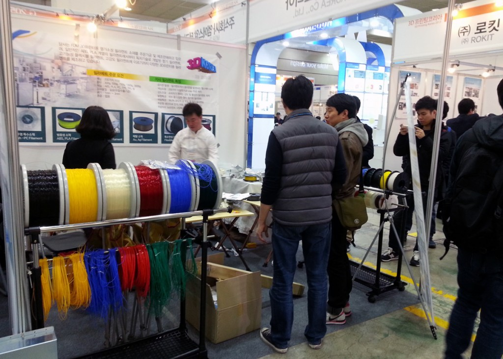 3D Korea, 3D printing Filament manufacturer at 3D Printing Korea 2015