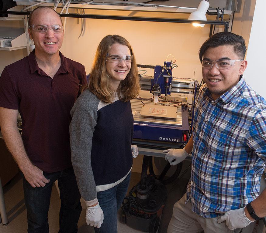 3D printed blood vessel network from Rice University Jordan Miller and team