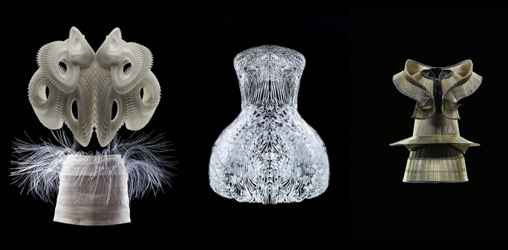 3D printed iris van herpen show at high museum of art atlanta