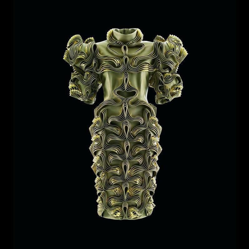 3D printed iris van herpen show at high museum of art atlanta feature