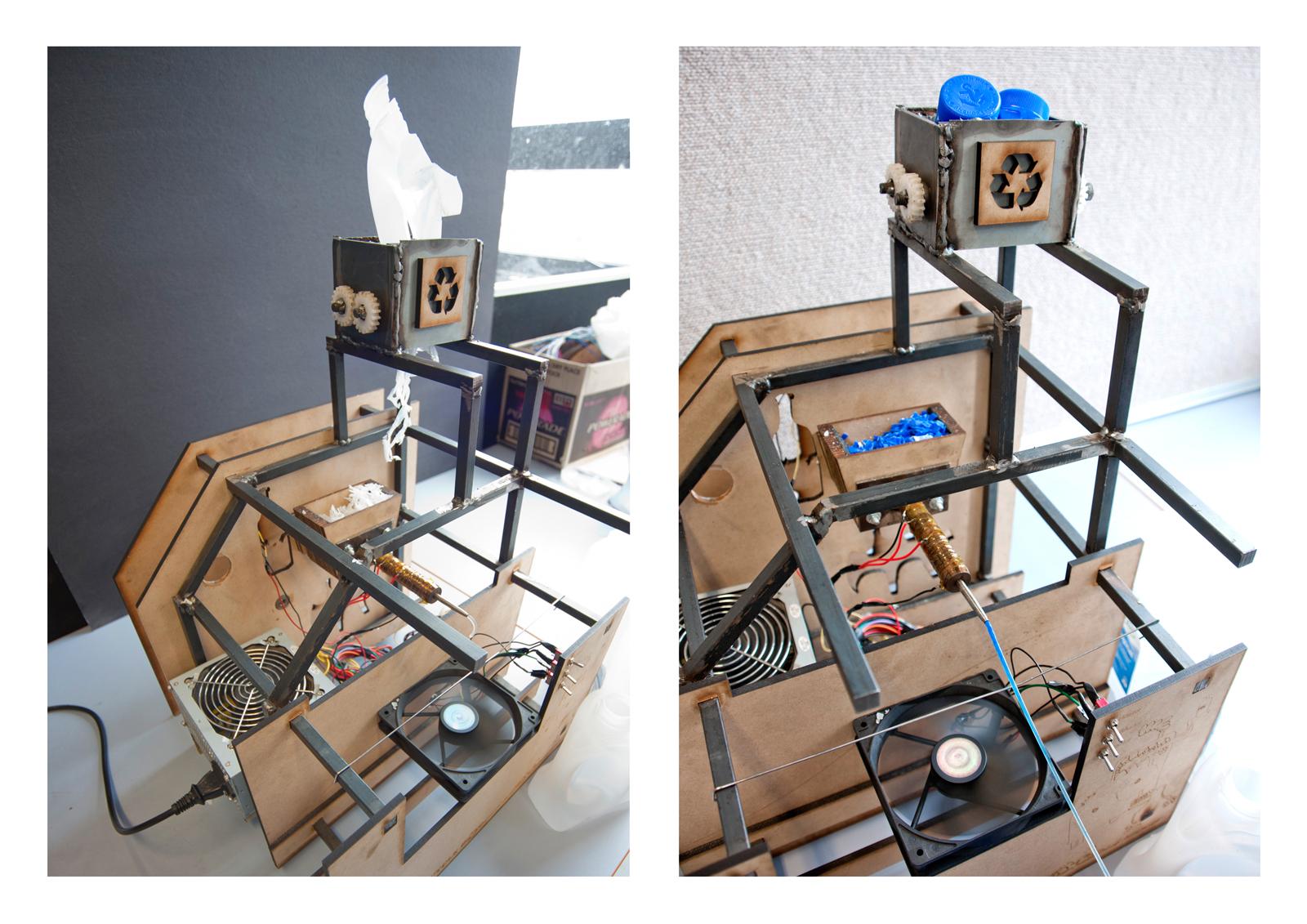 RepRap recyclebot