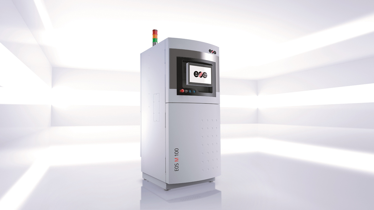 EOS_M100 metal 3D printing system