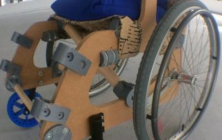 Hugo Riveros' HU-GO 3D printed wheelchair