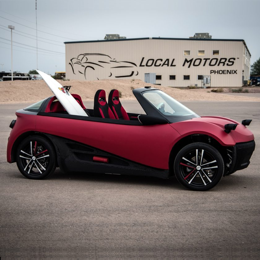 Local Motors On How To 3d Print A Car 3d Printing Industry