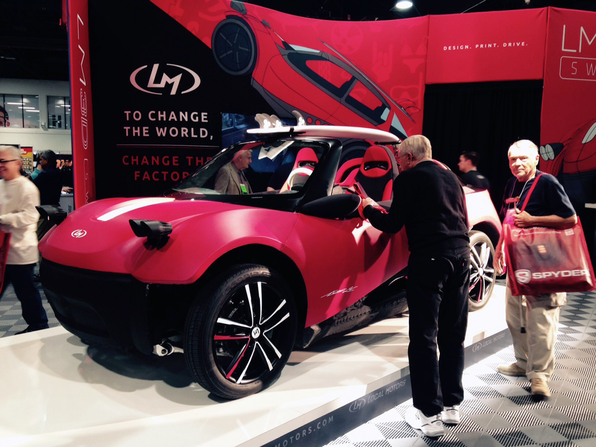 World\'s 1st 3D Printed Car Unveiled with $53K Price Tag