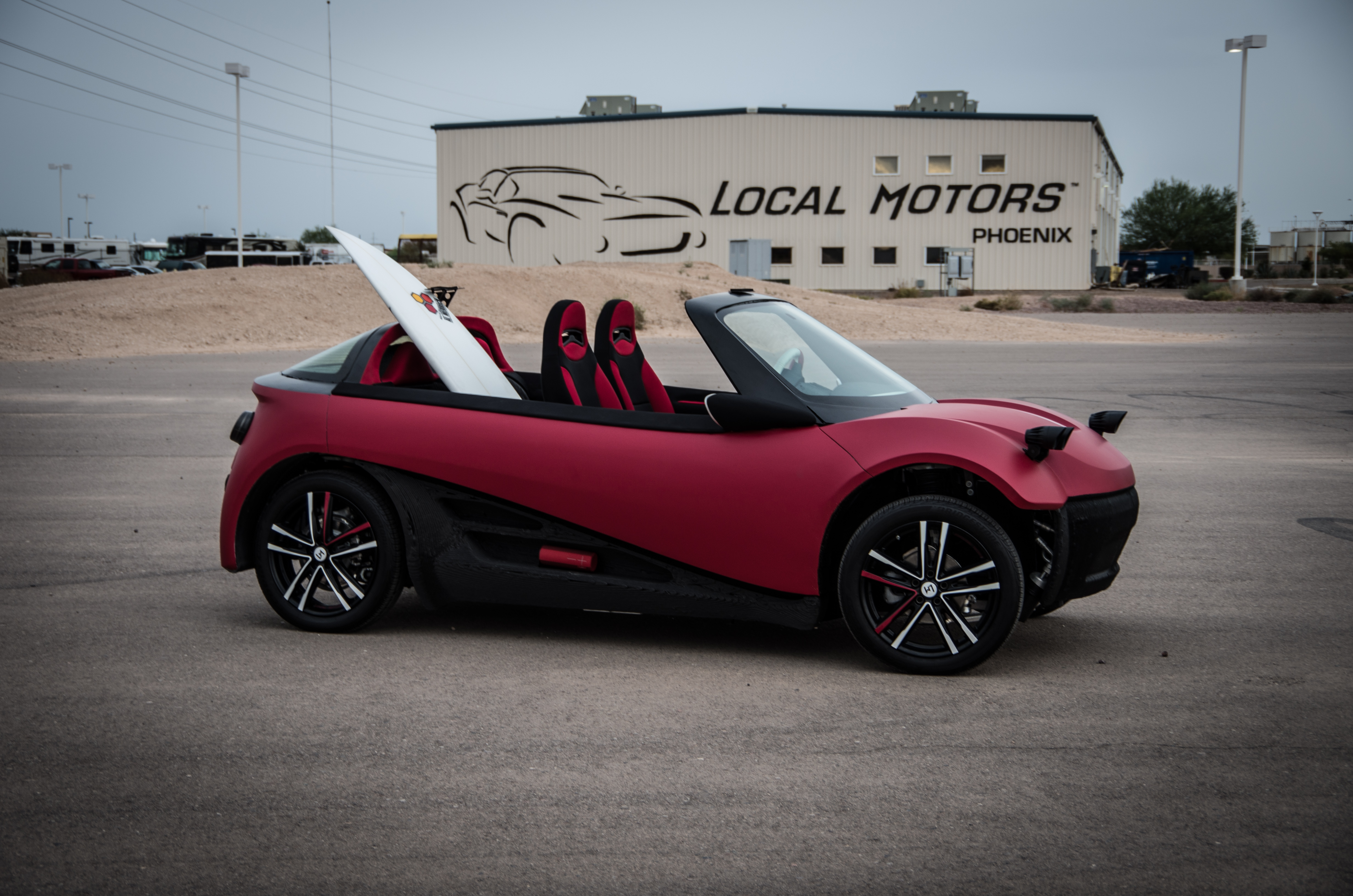 World 39 S 1st 3d Printed Car Unveiled With 53k Price Tag