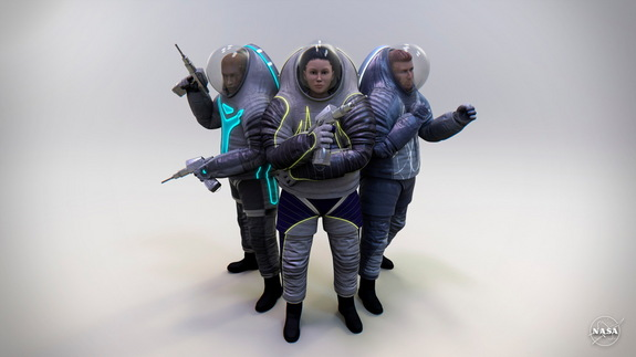 Z-2 spacesuit design concepts to be 3D printed