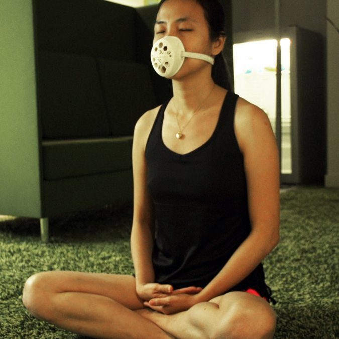 The 3D Printed Pattern Breathe Mask