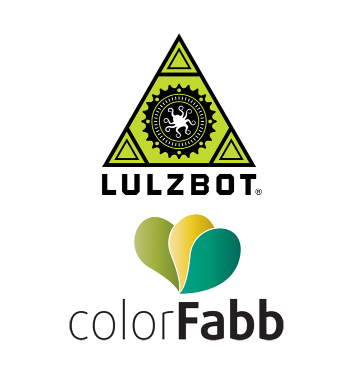 lulzbot aleph objects partners with colorfabb for 3D printing filament