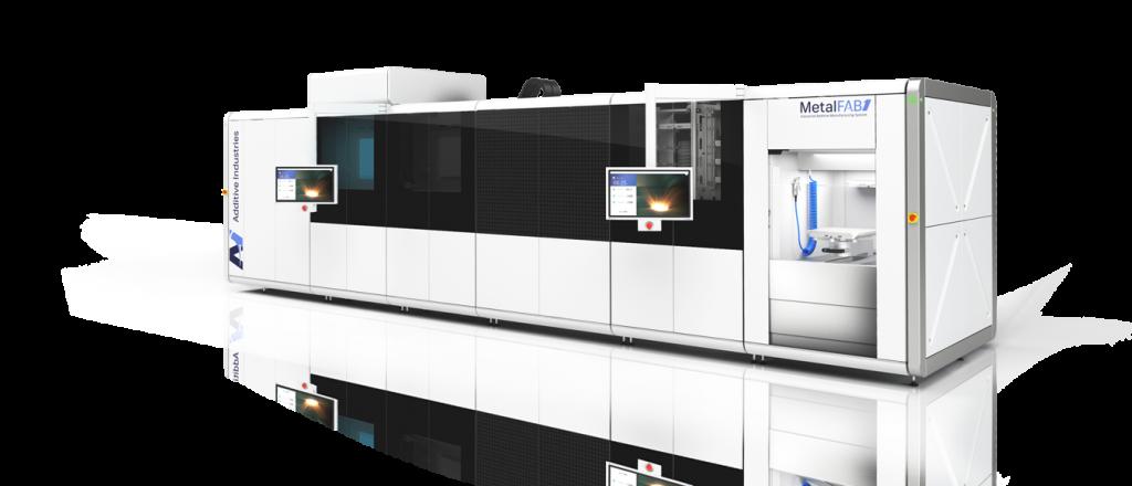 metalfab1 metal 3D printer from additive industries
