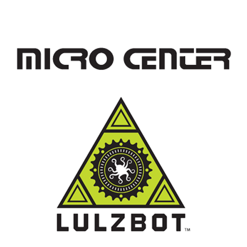 micro center and lulzbot 3D printers