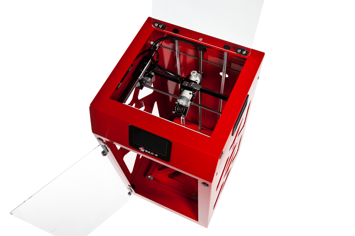 premium builder 3D printer red top