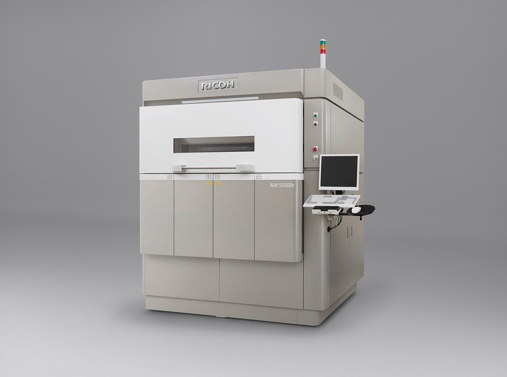 Ricoh's industrial-grade SLS printer