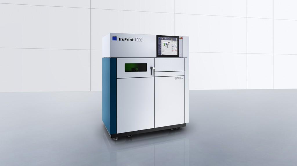 trumpf metal 3D printing  TruPrint_1000