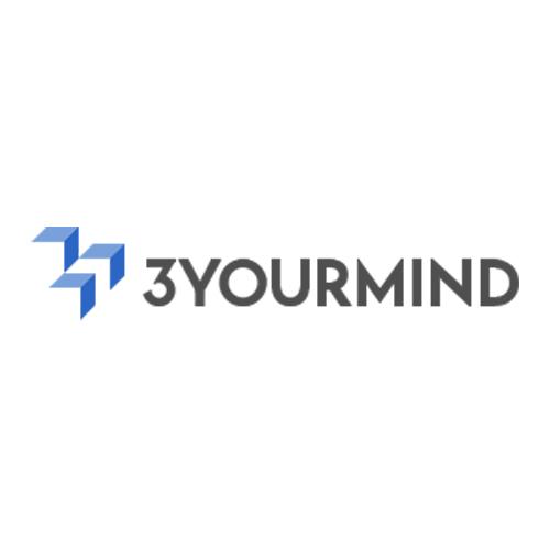 3YOURMIND 3d printing site logo