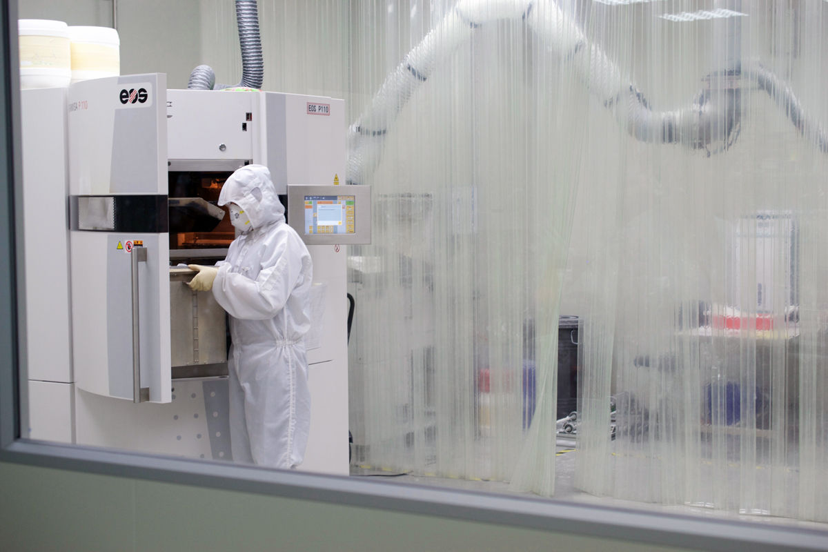 DETEKT 3D printers in Taiwan clean room