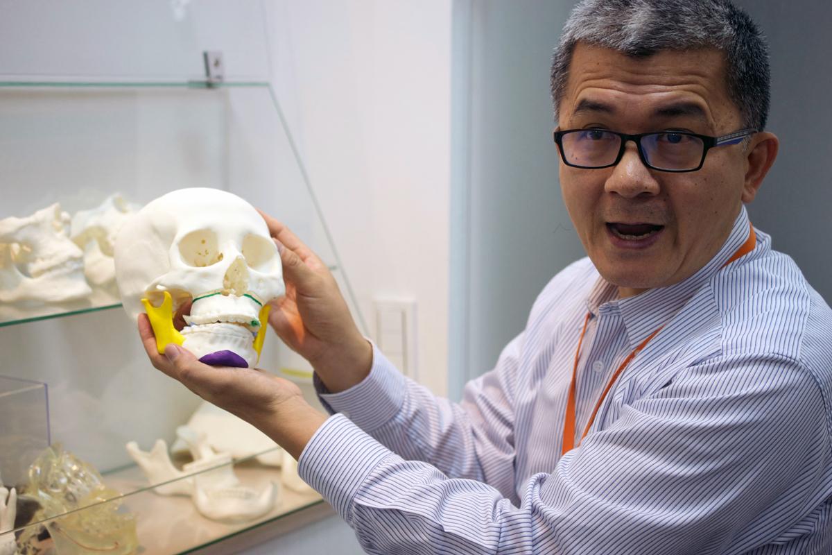 DETEKT 3D printers in Taiwan plastic surgery