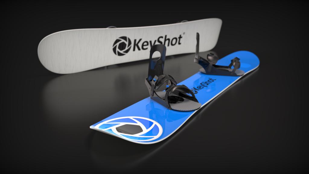 KeyShot_Snowboard