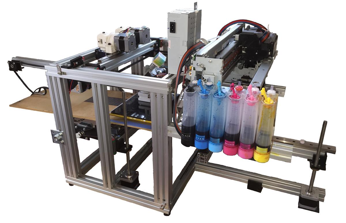Lunavast CrafteHbot full color fdm 3D printer from japan