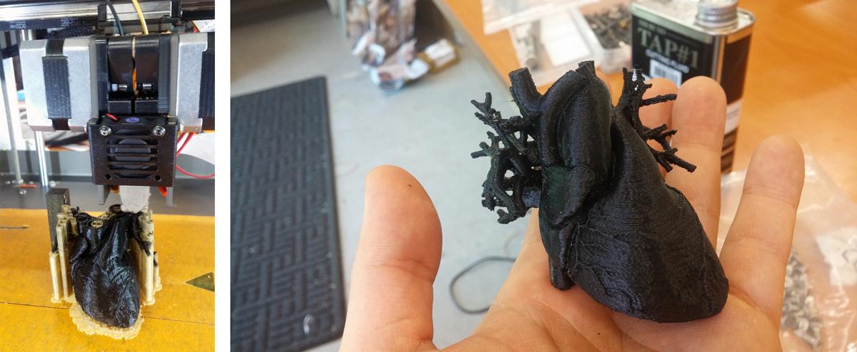 Olmo 3D printer printhead
